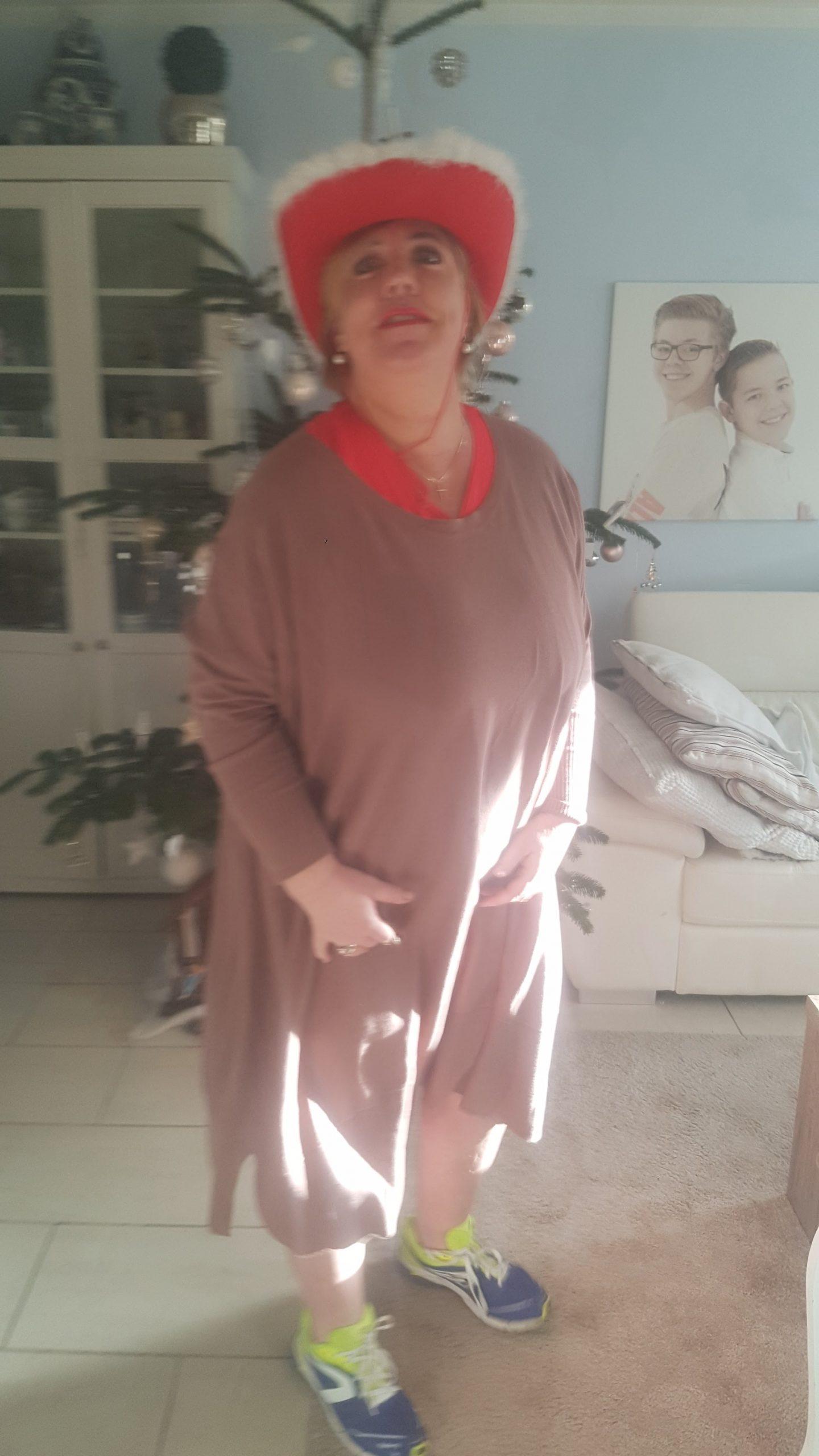 Figuur 2: Liesbeth Timmerman voor de behandeling