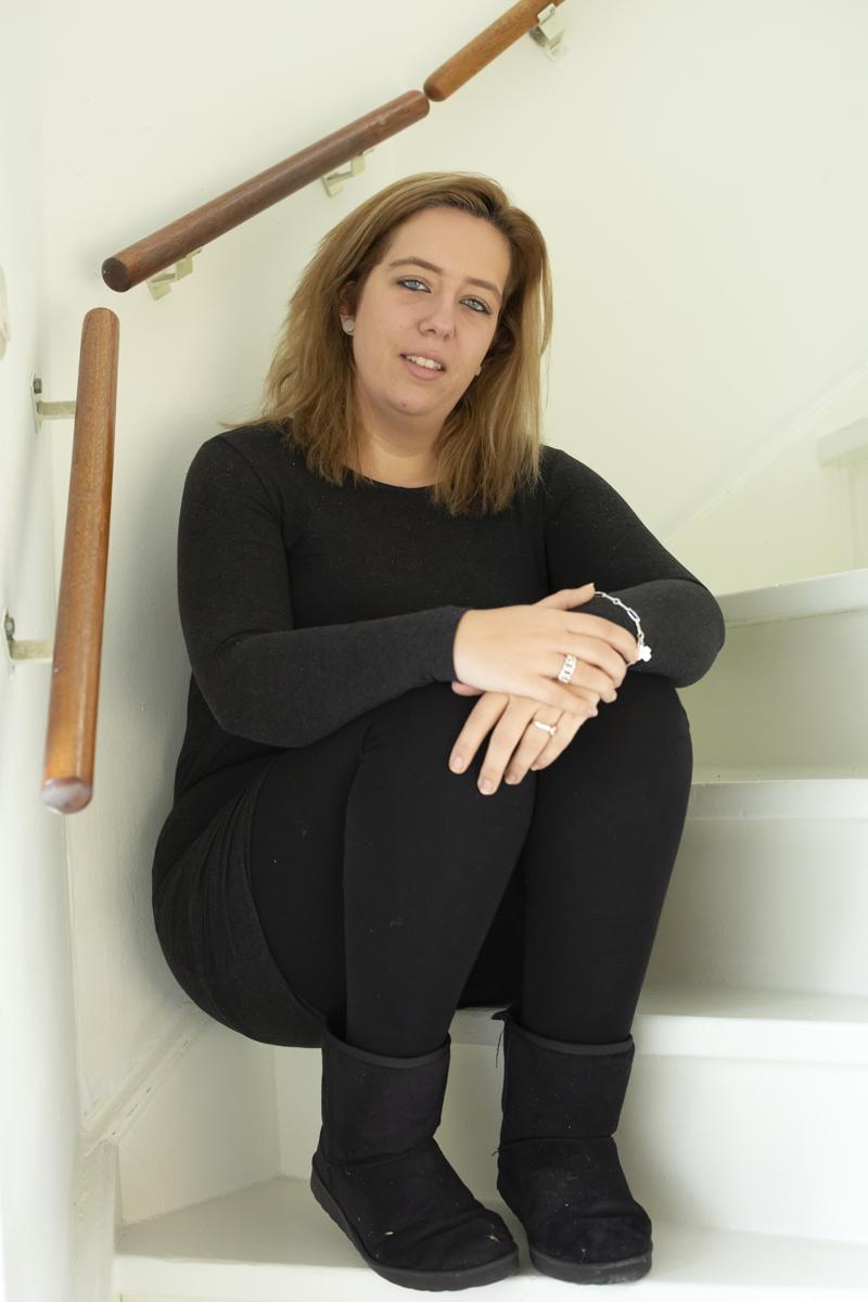 Figuur 2: Melissa na de operatie